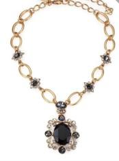 Oscar de la Renta: Swarvoski crystal necklace
